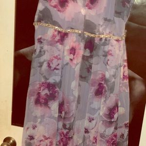 SLNY Dresses - Embellished Maxi Dress size 18